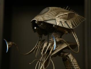 Pegasus War of the Worlds Alien Tripod pre photoshop