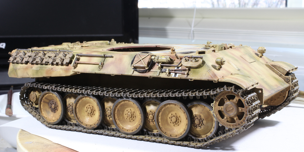 Tamiya 1/35 Panther Ausf D | STATIC CAPITAL